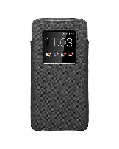 Case - BlackBerry Smart Pocket Case For BlackBerry KEYone Limited Edition Black, KEYone, DTEK60
