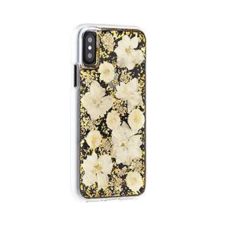 Case - Case-Mate Antique White Karat Petals Case For IPhone X, IPhone Xs