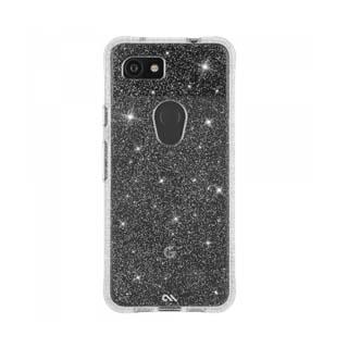 Case - Case-Mate Clear Sheer Crystal Case For Google Pixel 3a