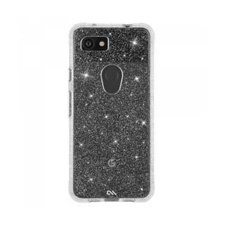 Case - Case-Mate Clear Sheer Crystal Case For Google Pixel 3a XL