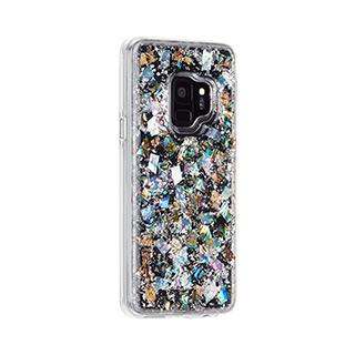 Case - Case-Mate Mother Of Pearl Leaf Karat Case For Samsung Galaxy S9