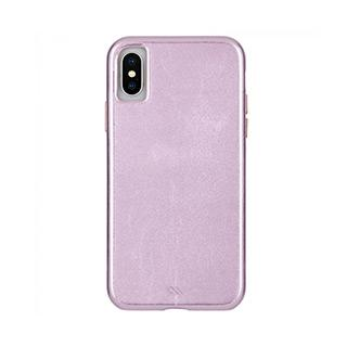 Case - Case-Mate Pink Barely There Leather Case For IPhone X, IPhone Xs