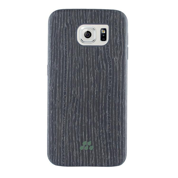 Case - Evutec SI Series Case (Black Apricot Wood) For Samsung Galaxy S6