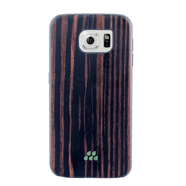 Case - Evutec SI Series Case (Ebony Wood)  For Samsung Galaxy S6