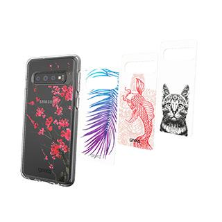 Case - Gear4 D3O Alpha Chelsea Inserts (4 Pcs) For Samsung Galaxy S10