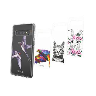 Case - Gear4 D3O Animal Kingdom Chelsea Inserts (4 Pcs) For Samsung Galaxy S10