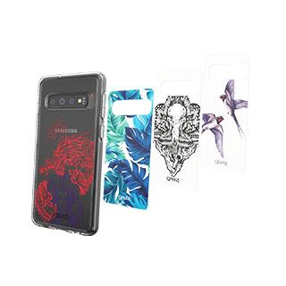 Case - Gear4 D3O Beta Chelsea Inserts (4 Pcs) For Samsung Galaxy S10