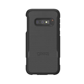Case - Gear4 D3O Black Platoon Case W/ Holster For Samsung Galaxy S10e