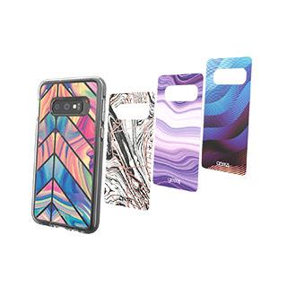 Case - Gear4 D3O Hypnotic Rebel Chelsea Inserts (4 Pcs) For Samsung Galaxy S10e