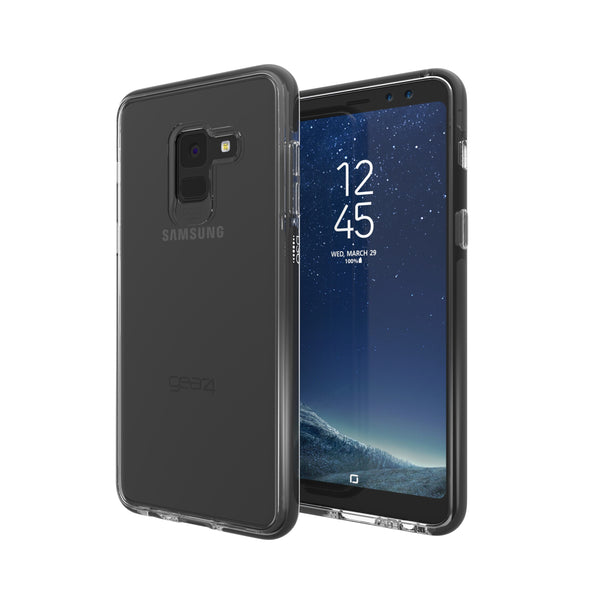 Case - Gear4 Piccadilly Case (Clear/Black) For Samsung Galaxy A8 (2018)