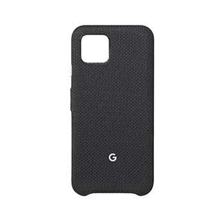 Case - Google OEM (Just Black) Black Fabric Case For Google Pixel 4