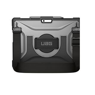 Case - Microsoft Surface Pro X UAG Clear/Black (Ice) Plasma Series Case