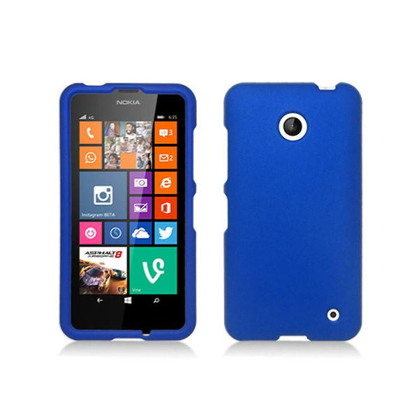 Case - Mobi Products Hard Shell Case (Blue) For Nokia Lumia 635