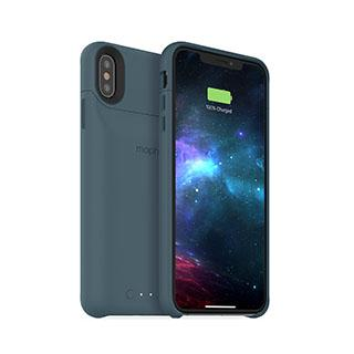 Case - Mophie Blue (stone) Juice Pack Access Case W/ Qi For IPhone Xs Max
