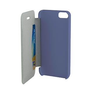 Case - Muvit Purple Easy Folio Case For IPhone 5, IPhone 5, IPhone 5S, IPhone 5SE
