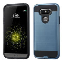 Case - MYBAT Brushed Hybrid Protective Case (Ink Blue/Black) For LG G5