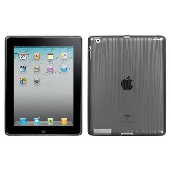 Case - MYBAT Candy Skin Protective Case (Smoke Wood Grain)  For IPad 2