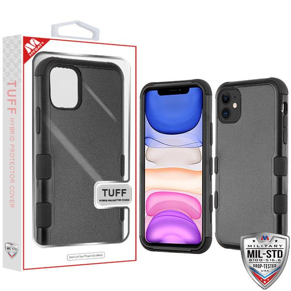 Case - MYBAT Natural Black/Black TUFF Hybrid Guaranteed Drop Protective Case For IPhone 11