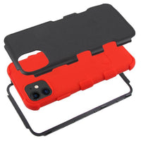 Case - MYBAT Natural Black/Red TUFF Hybrid Guaranteed Drop Protective Case For IPhone 11