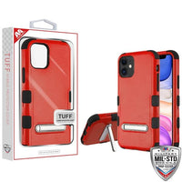 Case - MYBAT Red Amaryllis Suitup Candy Skin Cover (with Diamonds) Case For IPhone 11