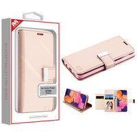 Case - MYBAT Rose Gold MyJacket Wallet Xtra Case For Samsung Galaxy A10e