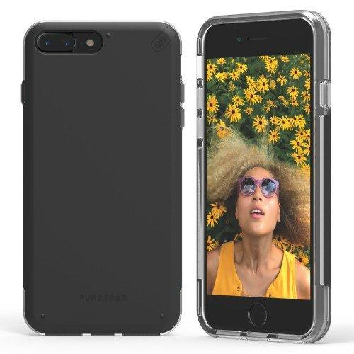 Case - Puregear DualTek Pro (Black/Clear) Case For IPhone 8 Plus, IPhone 7 Plus
