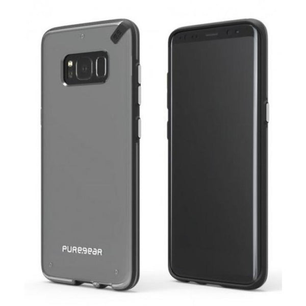 Case - Puregear Slim Shell Case (Clear/Black) For Samsung Galaxy Note 8