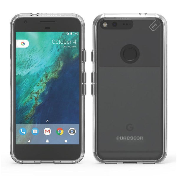 Case - Puregear Slim Shell Pro Case (61699PG) (Clear) For Google Pixel