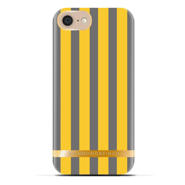 Case - Richmond Finch Satin Case(Mustard Stripes) For IPhone 5, IPhone 5S, IPhone SE