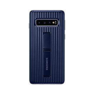 Case - Samsung OEM Navy Protective Standing Cover Case For Galaxy S10