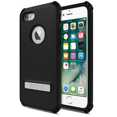 Case - Seidio (Black) Dilex Case With Metal Kickstand For IPhone 7, IPhone 8