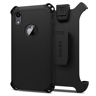 Case - Seidio (Black) Dilex Combo Case For IPhone XR