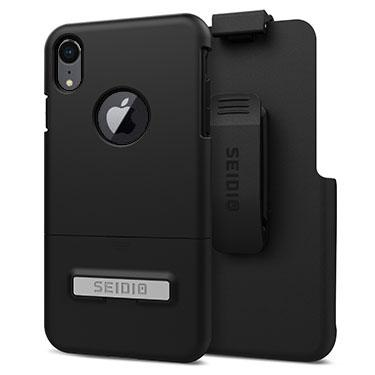 Case - Seidio (Black) Surface Combo Case With Kickstand For IPhone XR