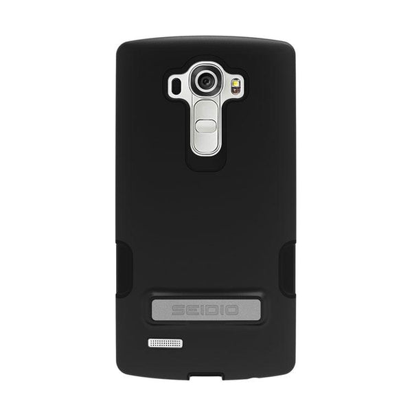 Case - Seidio DILEX Pro Case With Metal Kickstand (Black) For LG G4