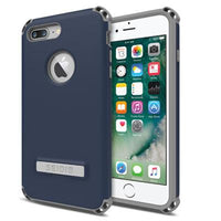 Case - Seidio (Midnight Blue/Gray) Dilex Case With Metal Kickstand For IPhone 7 Plus, IPhone 8 Plus
