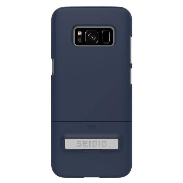 Case - Seidio SURFACE Case With Metal Kickstand (Midnight Blue / Gray) For Samsung Galaxy S8 Plus