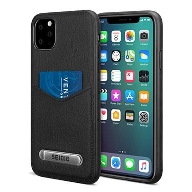 Case - Seido (Black) EXECUTIVE Case With Kickstand For IPhone 11 Pro Max