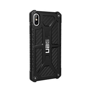 Case - UAG Black (Carbon Fibre) Monarch Series Case For IPhone Xs Max