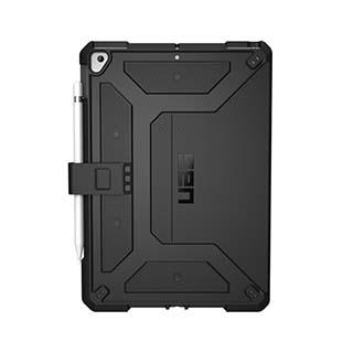 Case - UAG Black Metropolis Series Case For IPad 10.2 (2019)