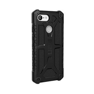 Case - UAG Black Monarch Series Case For Google Pixel 3