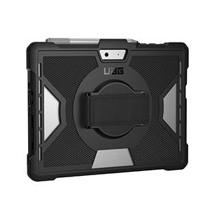 Case - UAG Black Outback Series Case W/Handstrap (Non-retail Poly Bag Packaging) For Microsoft Surface Go