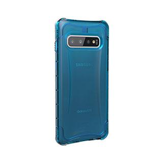 Case - UAG Blue/Clear (Glacier) Plyo Series Case For Samsung Galaxy S10