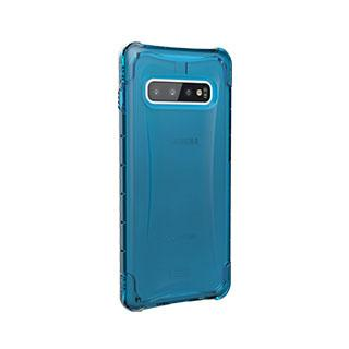 Case - UAG Blue/Clear (Glacier) Plyo Series Case For Samsung Galaxy S10 Plus