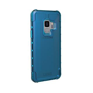 Case - UAG Blue/Clear (Glacier) Plyo Series Case For Samsung Galaxy S9