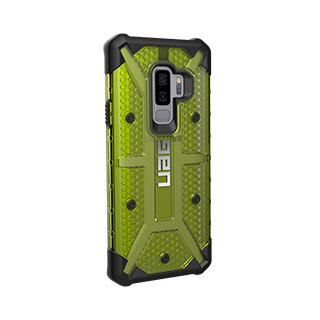Case - UAG Citron/Black Plasma Series Case For Samsung Galaxy S9 Plus