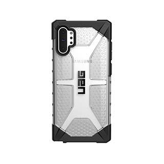 Case - UAG Clear/Black (Ice) Plasma Case For Samsung Galaxy Note 10 Plus
