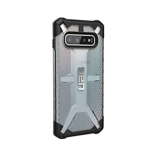 Case - UAG Clear/Black (Ice) Plasma Series Case For Samsung Galaxy S10 Plus