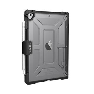 Case - UAG Ice/Black Plasma Series Case For IPad 9.7 (2017/2018)