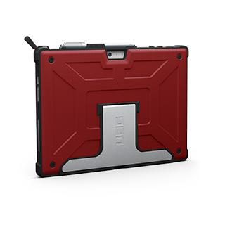 Case - UAG Magma/Black Metropolis Series Case For Microsoft Surface Pro 6, Microsoft Surface Pro 5th Gen, Microsoft Surface Pro 4