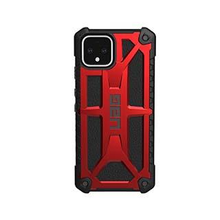 Case - UAG Red/Black (Crimson) Monarch Case For Google Pixel 4